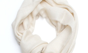 royal alpaca scarf cream small