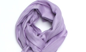 royal alpaca scarf purple small